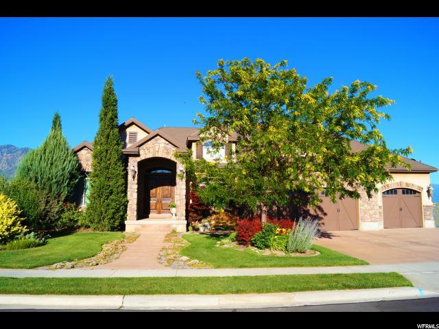 11596 N Sunset Hills Dr, Highland, UT 84003 (#1546018) :: goBE Realty