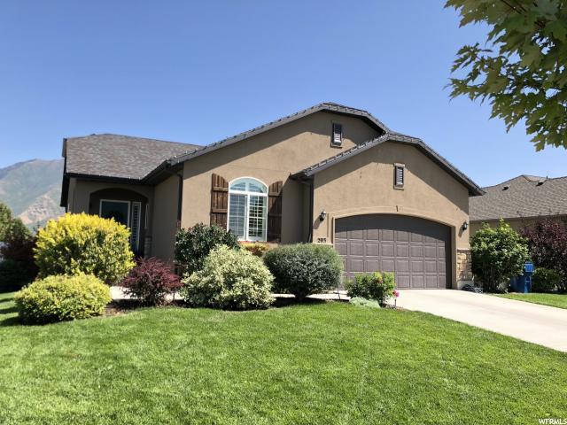 293 S 2000 E, Spanish Fork, UT 84660 (#1550283) :: Bustos Real Estate   Keller Williams Utah Realtors