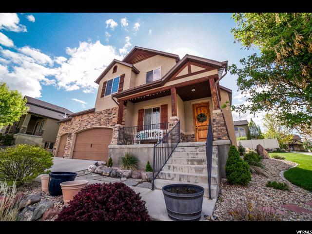 14716 S Tangle Hill Rd, Herriman, UT 84096 (#1577241) :: Bustos Real Estate | Keller Williams Utah Realtors