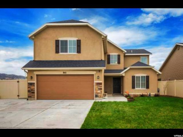 843 W Hexam Rd, North Salt Lake, UT 84054 (#1592759) :: Keller Williams Legacy
