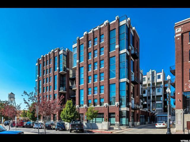 360 W Broadway S #602, Salt Lake City, UT 84101 (#1597804) :: Colemere Realty Associates