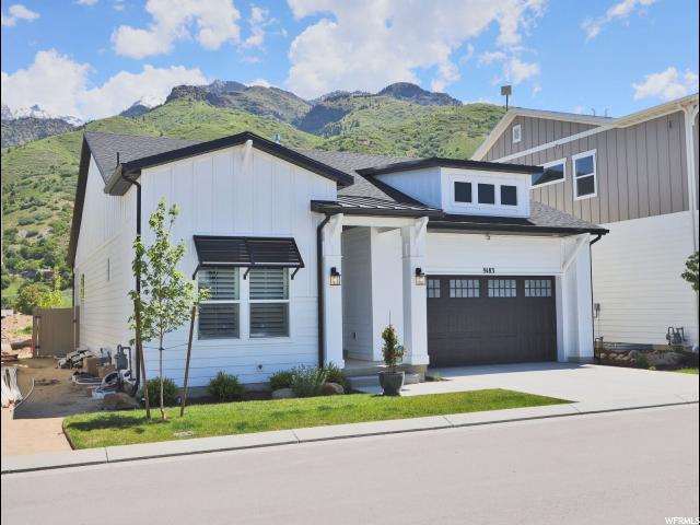 9183 S Galette Ln E, Cottonwood Heights, UT 84093 (#1606879) :: Red Sign Team