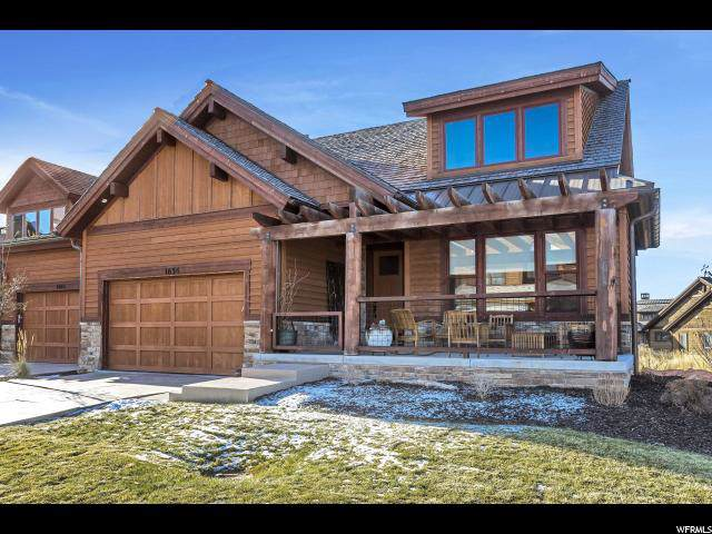 1654 E Abajo Peak Cir E, Heber City, UT 84032 (#1614820) :: The Fields Team