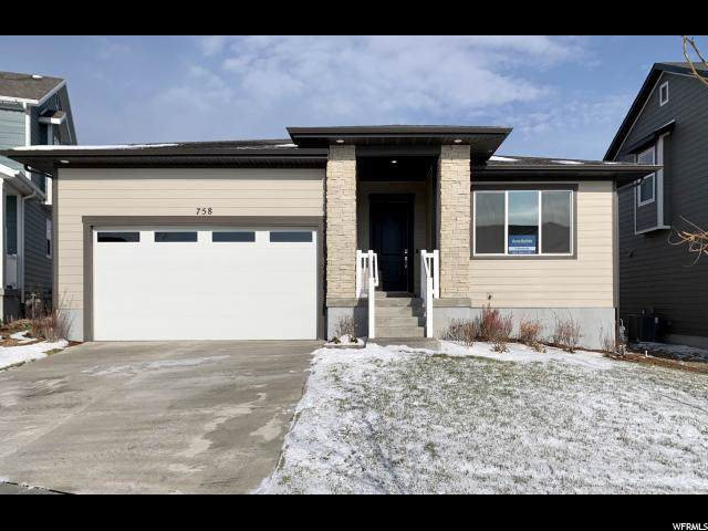 758 W Hydrangea Way N, Saratoga Springs, UT 84045 (#1625751) :: Doxey Real Estate Group