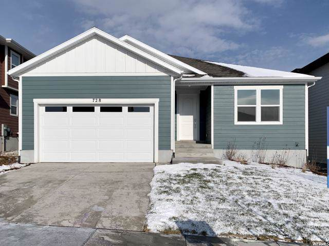 728 W Hydrangea Way N, Saratoga Springs, UT 84045 (#1632774) :: Red Sign Team