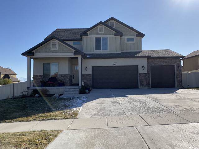 609 W Sidney Ln, Saratoga Springs, UT 84045 (#1639725) :: Bustos Real Estate | Keller Williams Utah Realtors