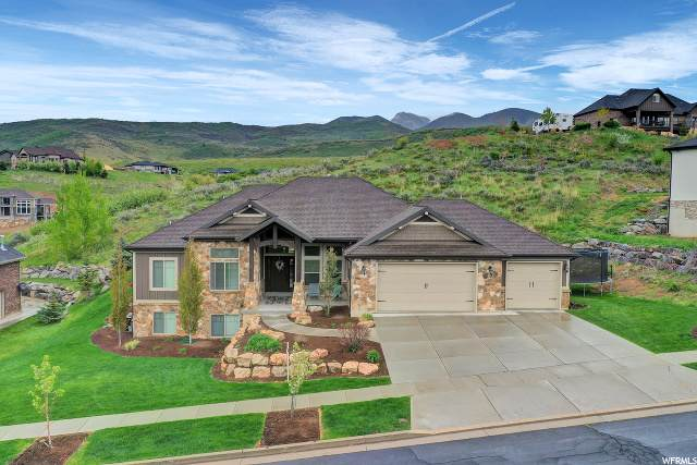 5960 N Hidden Hills Dr, Mountain Green, UT 84050 (#1650656) :: Colemere Realty Associates