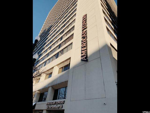 44 W Broadway S #1605, Salt Lake City, UT 84101 (#1652693) :: goBE Realty