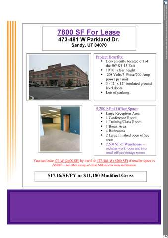 473 -481 W PARKLAND DR. - Photo 1