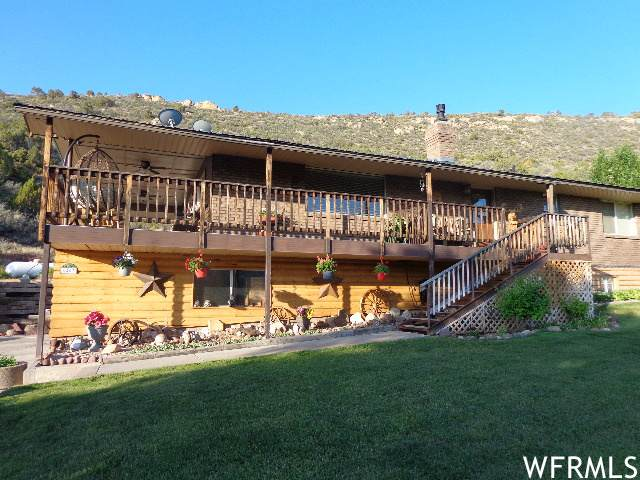 6407 N Dry Fork Canyon Rd W, Vernal, UT 84078 (#1756357) :: Colemere Realty Associates