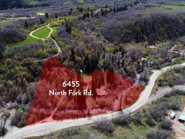 6455 N North Fork Rd E, Liberty, UT 84310 (#1523880) :: Keller Williams Legacy