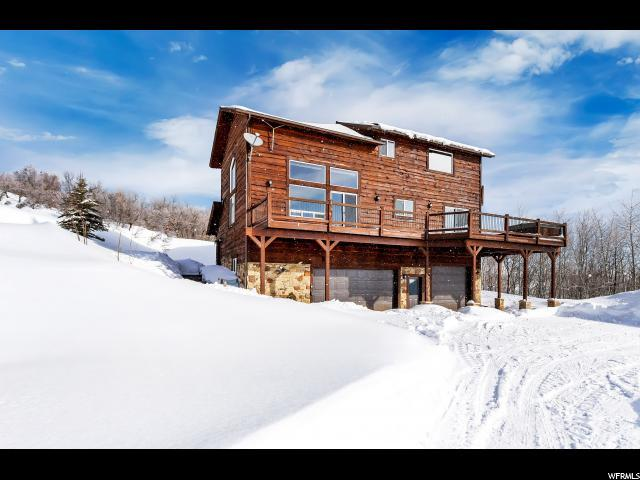 1689 Lower Cove Rd, Snyderville, UT 84098 (MLS #1580815) :: High Country Properties