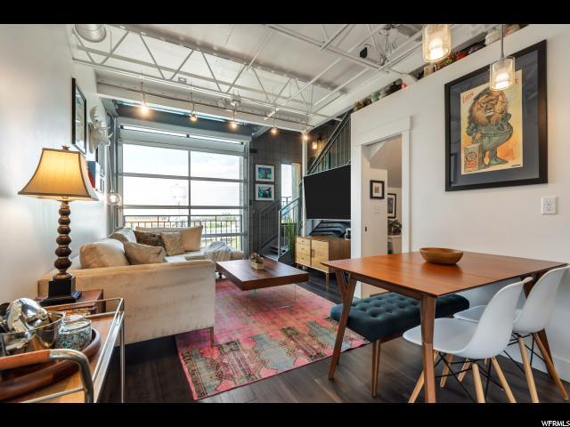 360 W Broadway S #602, Salt Lake City, UT 84101 (#1597804) :: Colemere Realty Associates