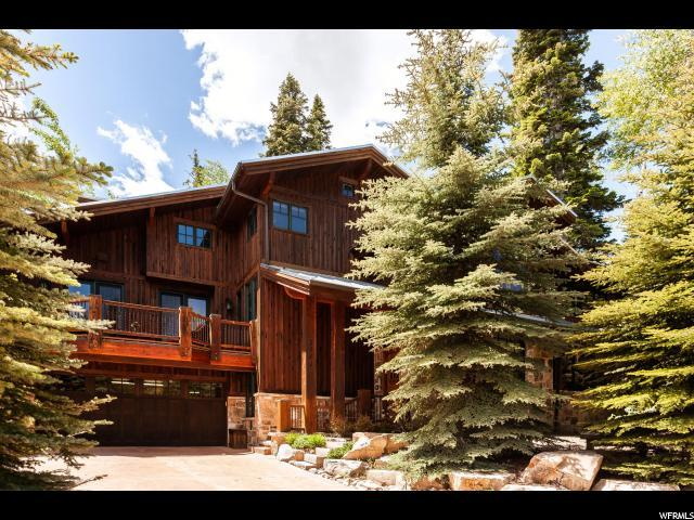 2360 W Red Pine Rd, Park City, UT 84098 (MLS #1598277) :: High Country Properties