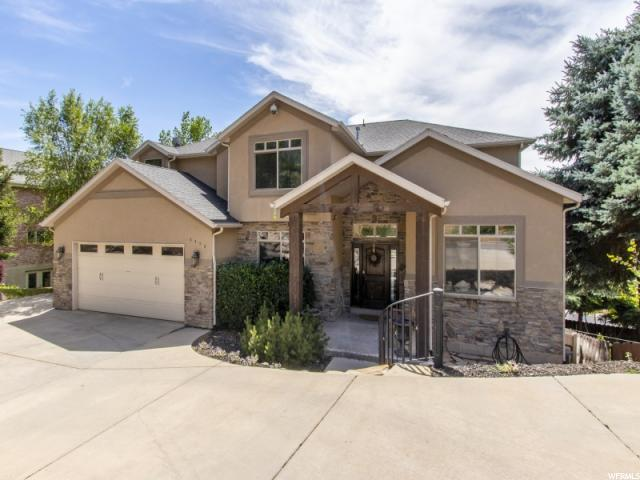 6450 S Heughs Canyon Dr, Holladay, UT 84121 (#1603511) :: goBE Realty