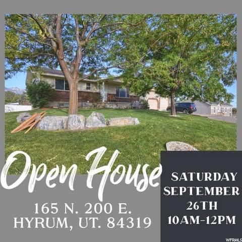 165 N 200 E, Hyrum, UT 84319 (MLS #1699088) :: Lookout Real Estate Group