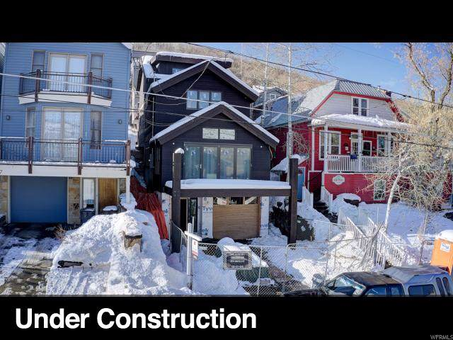 1009 Empire, Park City, UT 84060 (#1581459) :: Doxey Real Estate Group