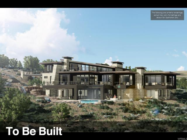 8785 N Lookout Ln, Park City, UT 84098 (MLS #1495031) :: High Country Properties