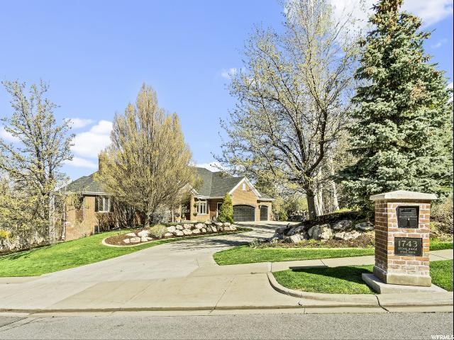 1743 E Stone Ridge Dr, Bountiful, UT 84010 (#1593492) :: Bustos Real Estate | Keller Williams Utah Realtors