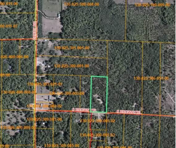810 S Brown Trail, Indian River, MI 49749 (MLS #322760) :: CENTURY 21 Northland