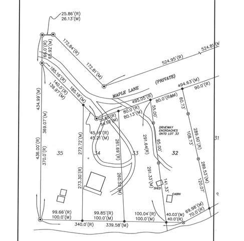W Maple Lane, Eckerman, MI 49728 (MLS #324480) :: CENTURY 21 Northland