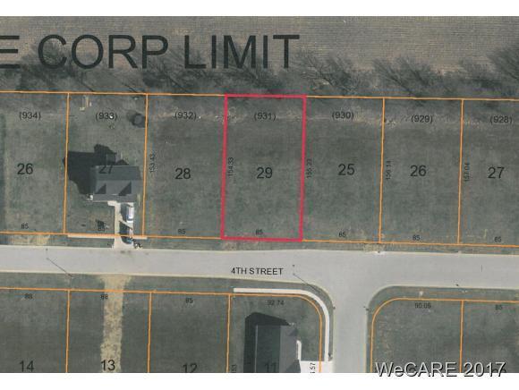 404 W. Fourth St., SPENCERVILLE, OH 45887 (MLS #103774) :: Superior PLUS Realtors