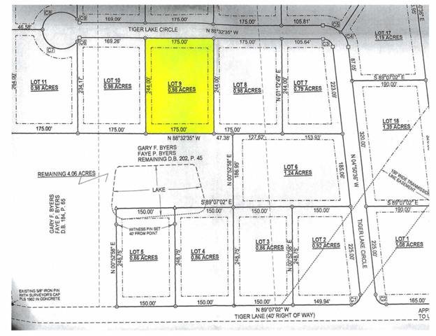 Lot 9 on Tiger Lake Cove, Benton, KY 42025 (MLS #96123) :: The Vince Carter Team