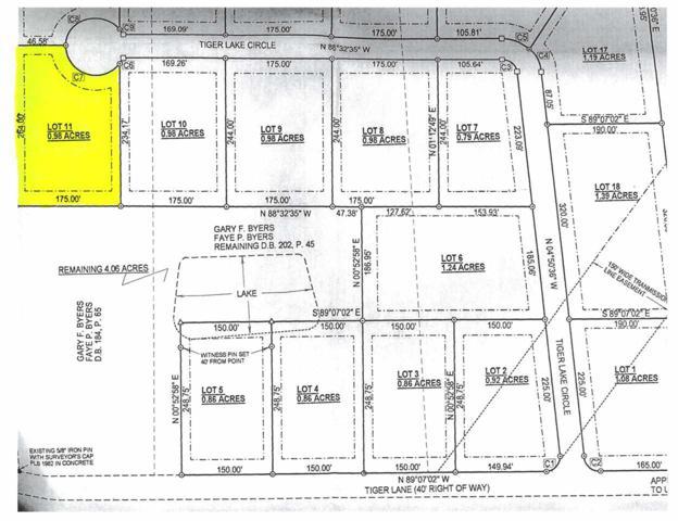 Lot 11 on Tiger Lake Cove, Benton, KY 42025 (MLS #96124) :: The Vince Carter Team