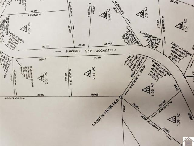 lot 72 Cliffwood, Murray, KY 42071 (MLS #99444) :: The Vince Carter Team