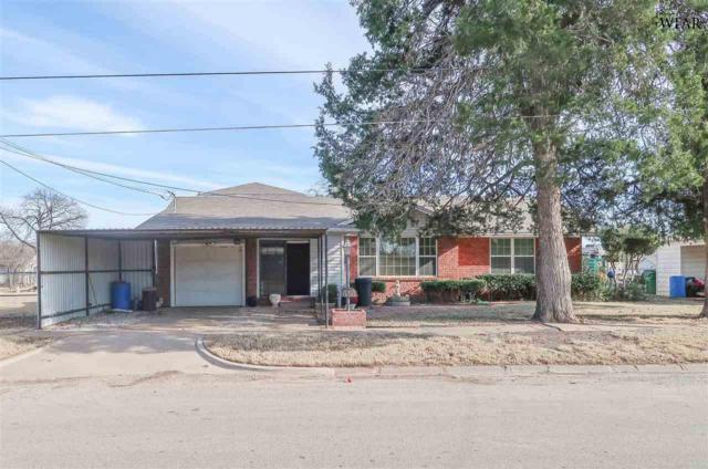 610 S Oak Street, Archer City, TX 73651 (MLS #147616) :: WichitaFallsHomeFinder.com