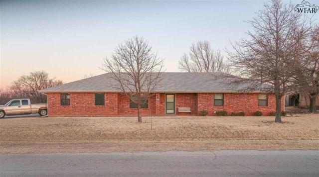 408 N Sycamore Street, Archer City, TX 76351 (MLS #147822) :: WichitaFallsHomeFinder.com