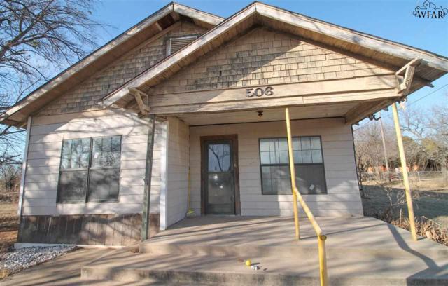 506 Taylor Road, Petrolia, TX 76377 (MLS #147941) :: WichitaFallsHomeFinder.com