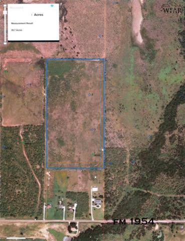 39.28 Acres Fm 1954, Holliday, TX 76366 (MLS #148606) :: WichitaFallsHomeFinder.com