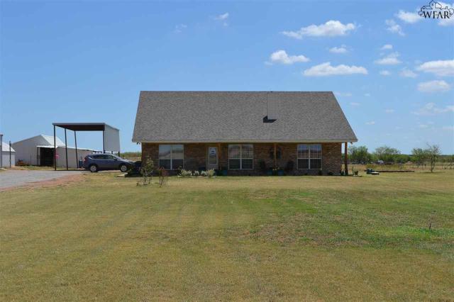 5884 Johnson Road, Iowa Park, TX 76367 (MLS #149684) :: WichitaFallsHomeFinder.com