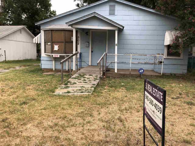 502 Glendale Street, Burkburnett, TX 76354 (MLS #150140) :: WichitaFallsHomeFinder.com