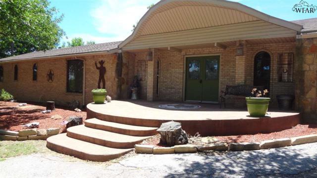 13452 S Hwy 281, Scotland, TX 76389 (MLS #151063) :: WichitaFallsHomeFinder.com