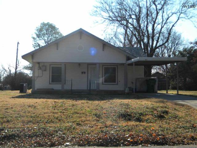 412 E 5TH STREET, Burkburnett, TX 76354 (MLS #151389) :: WichitaFallsHomeFinder.com