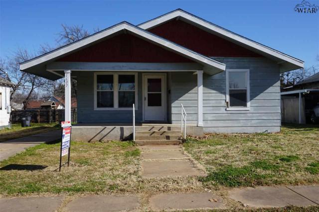 1607 Giddings Street, Wichita Falls, TX 76309 (MLS #151663) :: WichitaFallsHomeFinder.com