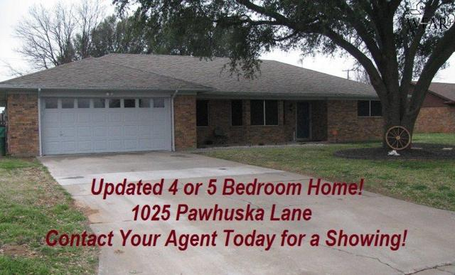 1025 Pawhuska Lane, Burkburnett, TX 76354 (MLS #152118) :: WichitaFallsHomeFinder.com