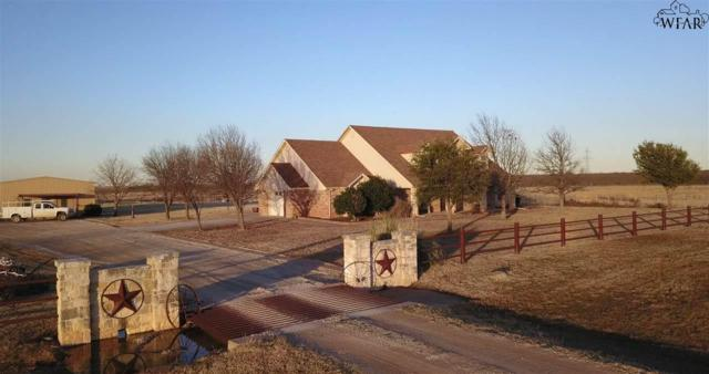 757 Davis Road, Archer City, TX 76351 (MLS #152666) :: WichitaFallsHomeFinder.com