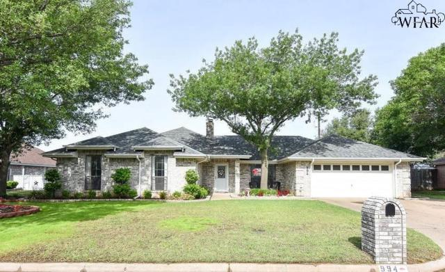 994 Coulter Drive, Burkburnett, TX 76354 (MLS #152855) :: WichitaFallsHomeFinder.com