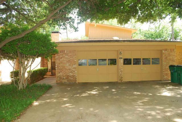 416 Park Street, Burkburnett, TX 76354 (MLS #152872) :: WichitaFallsHomeFinder.com