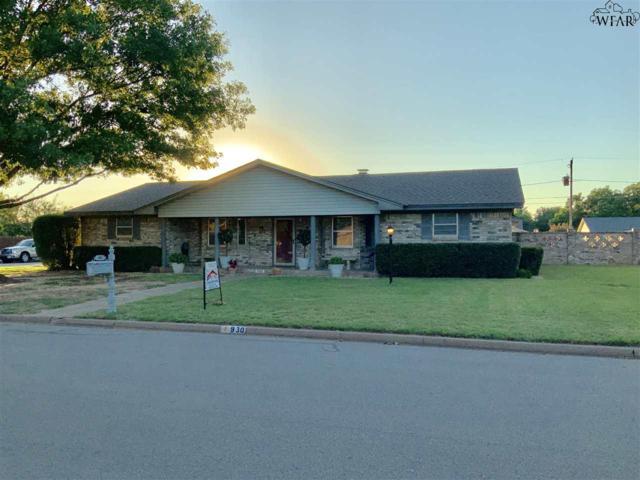 930 Tejas Drive, Burkburnett, TX 76354 (MLS #153175) :: WichitaFallsHomeFinder.com