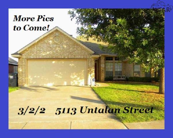5113 Untalan Street, Wichita Falls, TX 76306 (MLS #153285) :: WichitaFallsHomeFinder.com