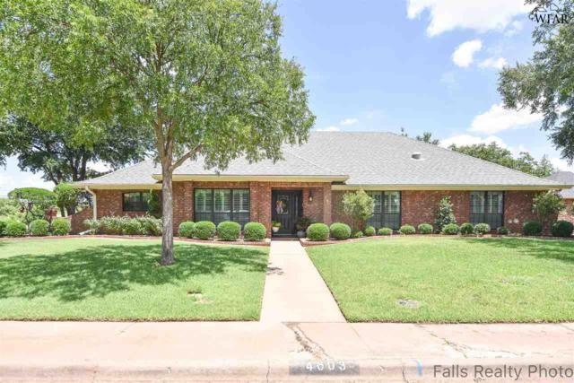 4603 Willow Bend Drive, Wichita Falls, TX 76310 (MLS #153306) :: WichitaFallsHomeFinder.com