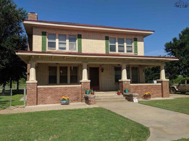 697 Ferguson Road, Holliday, TX 76366 (MLS #153581) :: WichitaFallsHomeFinder.com