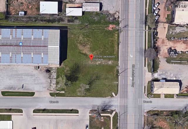 810 Jacksboro Highway, Wichita Falls, TX 76301 (MLS #154083) :: WichitaFallsHomeFinder.com