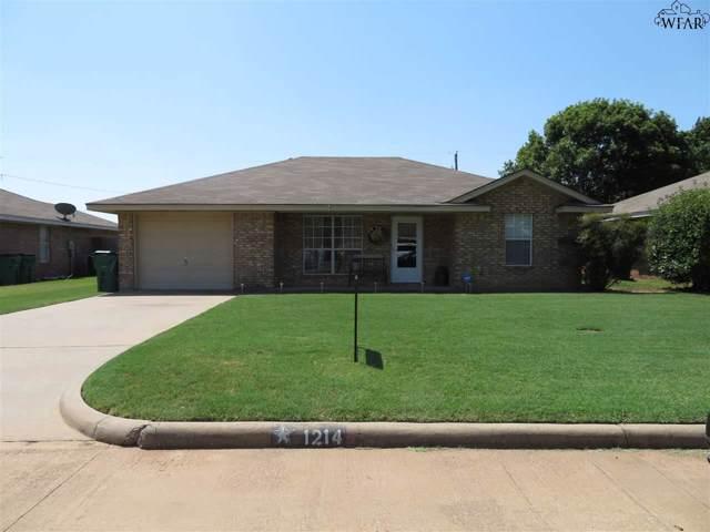 1214 Richland Street, Iowa Park, TX 76367 (MLS #154135) :: WichitaFallsHomeFinder.com
