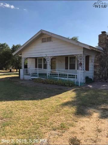 424 S Avenue I, Chillicothe, TX 79225 (MLS #154295) :: WichitaFallsHomeFinder.com