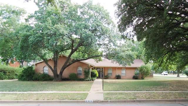 2311 Berkeley Drive, Wichita Falls, TX 76308 (MLS #154343) :: WichitaFallsHomeFinder.com